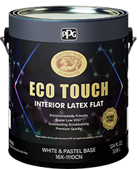 ECO TOUCH  INTERIOR LATEX FLAT