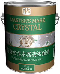 CRYSTAL WATER BASED PAINT CLEAR FLAT