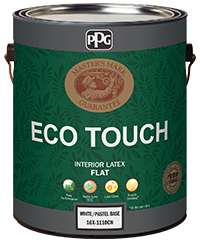 ECO TOUCH ANTI-BACTERIOR ODORLESS ALL IN ONE INTERIOR LATEX